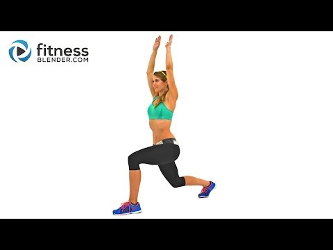 56 Minute Sweatfest Butt And Thigh Cardio Workout - Calorie Blasting Interval Cardio For Lower Body video