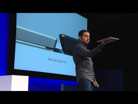 Satya Nadella on the Surface Pro 3