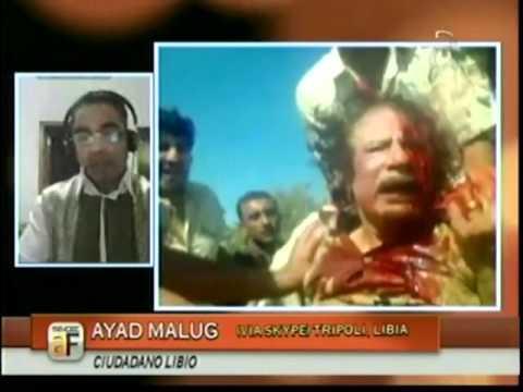 Ejecución de Muammar Gadafi - I Parte