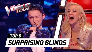 Surprising Blind Auditions In The Voice Kids Part 4