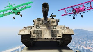 STEAL THE TANK OR DIE! (GTA 5 Funny Moments)