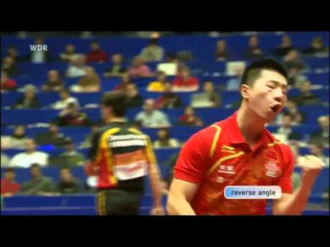 2012 World Team Table Tennis Championships.FINAL: MA Long vs OVTCHAROV Dm.