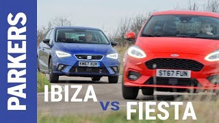 SEAT Ibiza vs Ford Fiesta twin test | Which supermini is best?