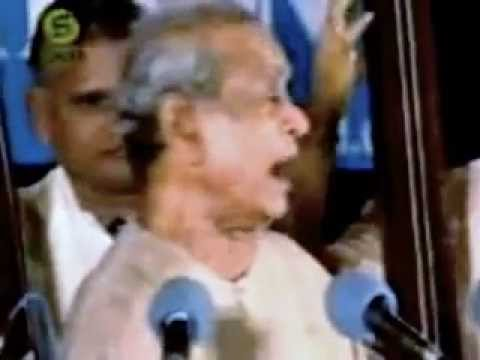 Bharat Ratna Bhimsen Joshi - Tappu Nodade Bandeya Appa Thiru Venkatesha - Kannada Bhajan video