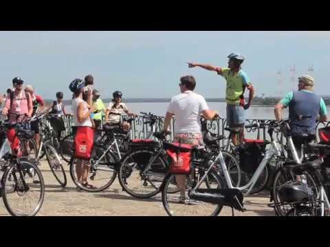Weinregion Bordeaux mit Fahrrad + Schiff