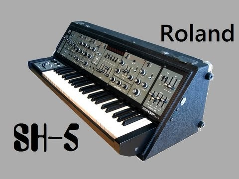 ROLAND SH-5 Analog Synth 1976 | DEMO Music Videos