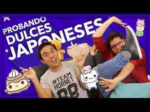 Comiendo Dulces Japoneses | Pepe & Teo
