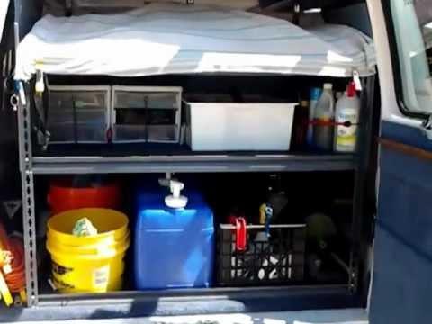 Window Cleaning Van Setup Youtube