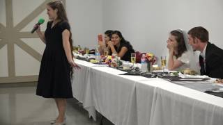 HILARIOUS Maid of Honor Speech Stuns Guests