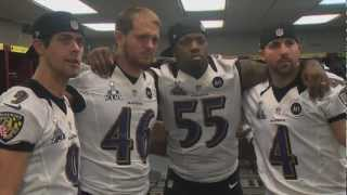 Terrell Suggs Wired During Media Day