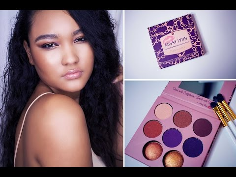 Get Ready With Me   Missy Lynn Palette