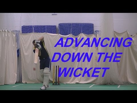 Hd Cricket Video Batting Tips How To Come Down The Wicket Michael Clarke Style video