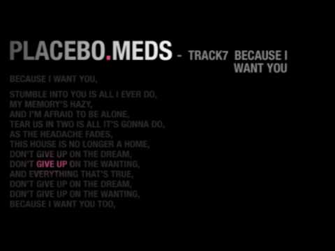 Placebo - Because I Want You (Instrumental)