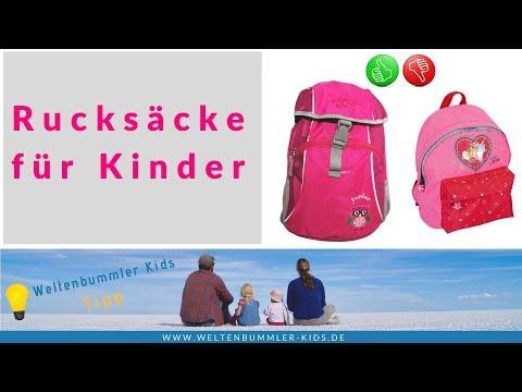Rucksäcke für Kinder im Test + super Tipp  // Produkttest Kinderrucksäcke