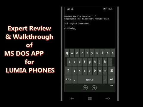 Review of MS DOS App for Lumia by Microsoft Mobile