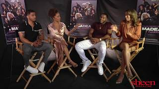 SHEEN Exclusive with the Cast of 'A Madea Family Funeral'