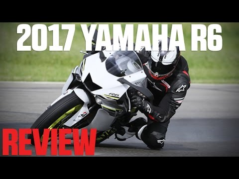 2017 Yamaha YZF-R6 Review   4K