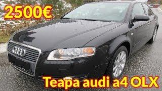 Teapa de 1000€ cu un Audi A4 1.9 TDI 2006 pe OLX