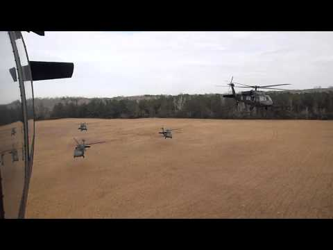 US Army Flight School - Advanced/UH-60A Blackhawks (Fort Rucker)