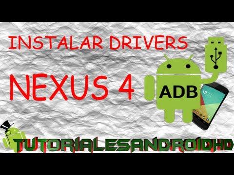 Cómo instalar Drivers para NEXUS 4/5/7/10 (Español)