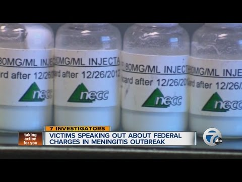 Victims speaking out about federal charges in meningitis outbreak