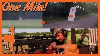 6.5 Creedmoor and .338 Lapua Magnum at One Mile! CMMG Mk3 DTR2 and Savage 110 BA