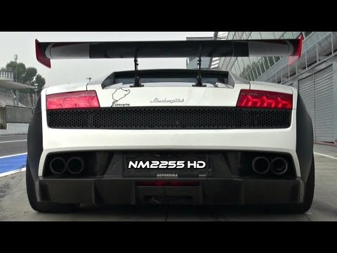 Modified Lamborghini LP570 Superleggera INSANE Exhaust Note!