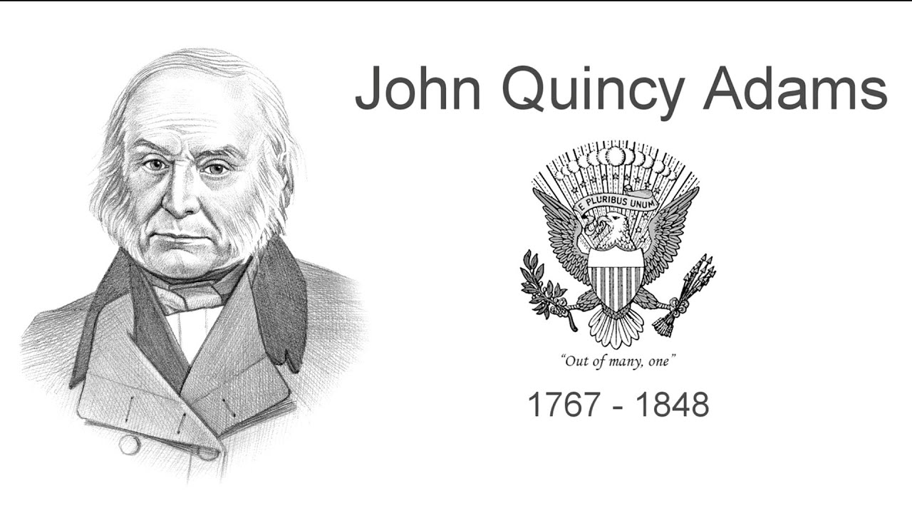 an introduction to the presidency of john quincy adams The election of 1824, which saw john quincy adams face off  as president,  adams got his exercise by taking a daily dip in the potomac naked  guest  needs no introduction, david letterman's six-part series on netflix.
