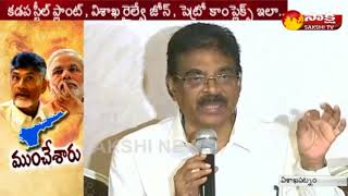 BJP MP Kambhampati Hari Babu Speaks to Media | Special Package to AP - Watch Exclusive
