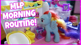 MY LITTLE PONY MORNING ROUTINE! How Rainbow Dash Spends Her Mornings!