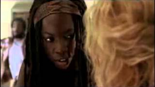 The Walking Dead  Deleted Scene #5   3x03  Walk With Me    Michonne, Andrea & The Governor