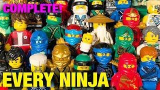 LEGO Ninjago COMPLETE Ninja Suit Collection Updated! (2011-2018)