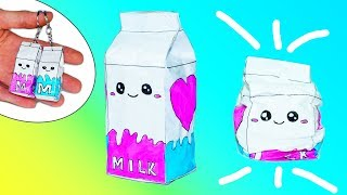 DIY PAPER SQUISHY | HOW TO MAKE A SQUISHY | 3D Milk Paper Squishy