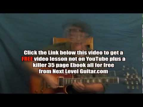 0 Learn Jeff Beck inspired lead rock guitar soloing lesson Cause Weve Ended as Lovers style