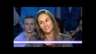 Vanessa Demouy et Philippe Lellouche - On n'est pas couché 17 octobre 2009 #ONPC