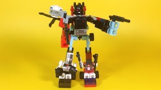 Kre-O Transformers Micro-Changers Combiners DEFENSOR A4474 Review - Unboxing, Build & Play