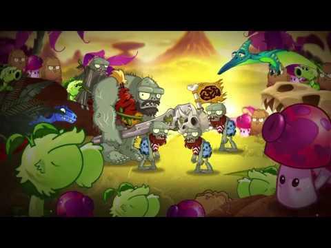 Plants Vs Zombies 2 Jurassic Marsh Part 1 Trailer