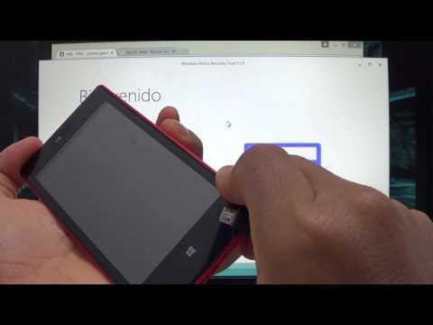 Revivir y/o Actualizar Nokia Lumia y Microsoft Mobile con Windows Device Recovery Tool