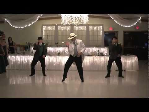 Smooth Criminal: Jeff Loehrke Wedding Dance