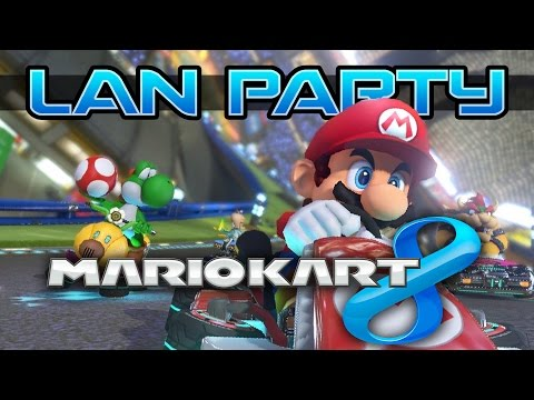 Mario Kart 8 - Grudge Match - LAN Party