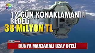 Dünya manzaralı uzay oteli