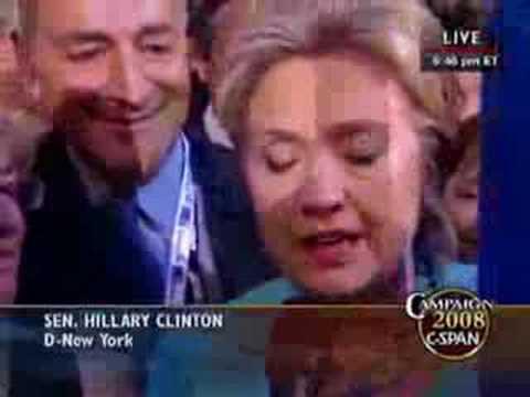 Sen. Hillary Clinton Suspends Roll Call Vote