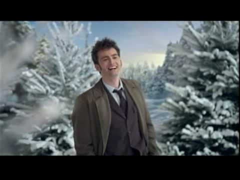 BBCA version of 2009 Doctor Who Christmas Ident with David Tennant