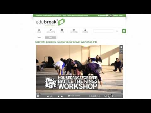 The edubreak®SPORTCAMPUS - Nr 1 online-learning environment for Sports