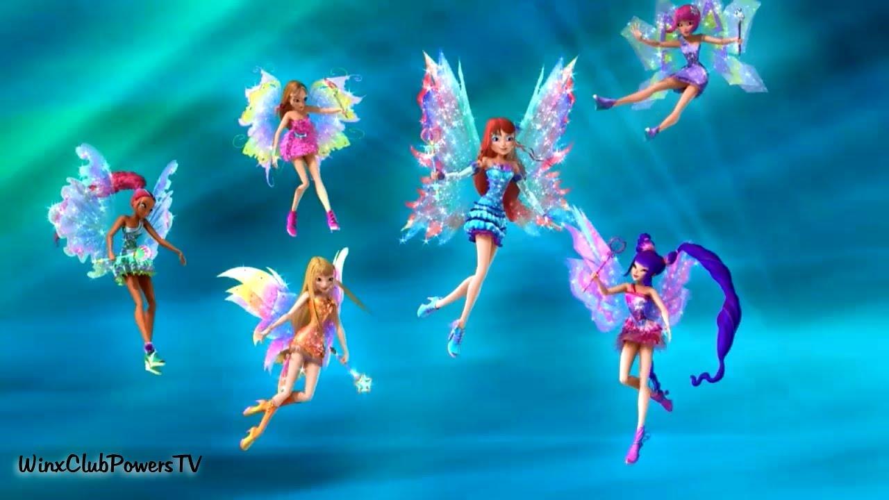 Winx Club 6x17  Floras Mythix Transformation Indonesian