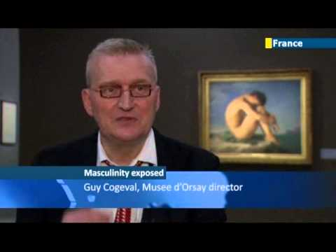 Male Nude Exhibition Proves Popular In Paris: Musee D'orsay Focuses On The Art Of Naked Men video