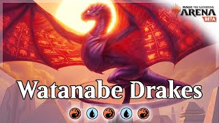 Yuuya Watanabe's Izzet Drakes PT Top 8 Deck MTG Arena Bo3 Guide and Gameplay