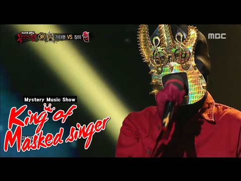 [King of masked singer] 복면가왕 - legendary guitar man - There is truth in wine 20150830
