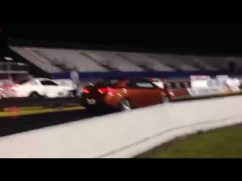 Kia Forte Koup Turbo vs. Mustang 1/4 mile drag