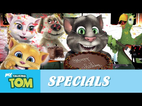 Talking Tom - Happy Birthday To Me! video